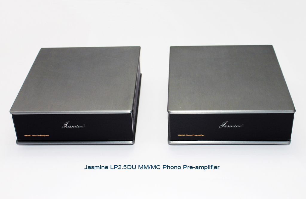Jasmine Audio LP2.5DU front both