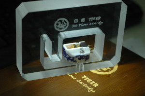 Jasmine Audio mc cartridge tiger in case